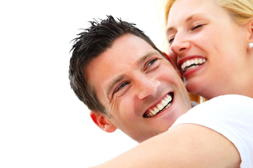 teeth whitening | couple smiling | monroe township nj dentist