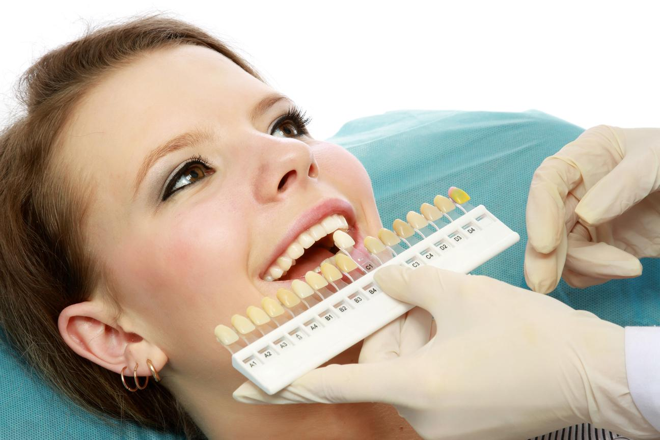 Woman Getting Teeth Whitened | Monroe Dental Arts
