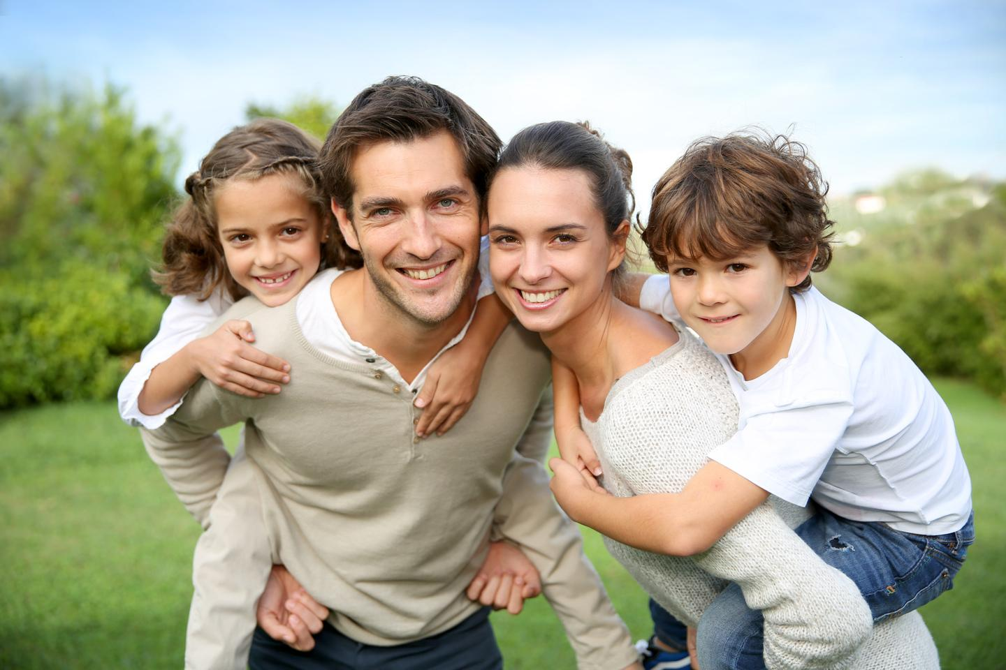 Family at Dentist | Monroe Dental Arts