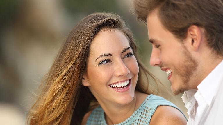 Couple Smiling Together | Monroe Dental Arts