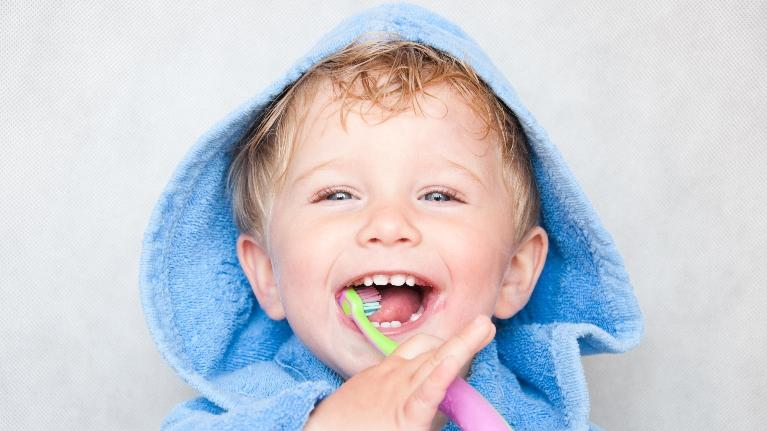 Kid Brushing Teeth | Monroe Dental Arts